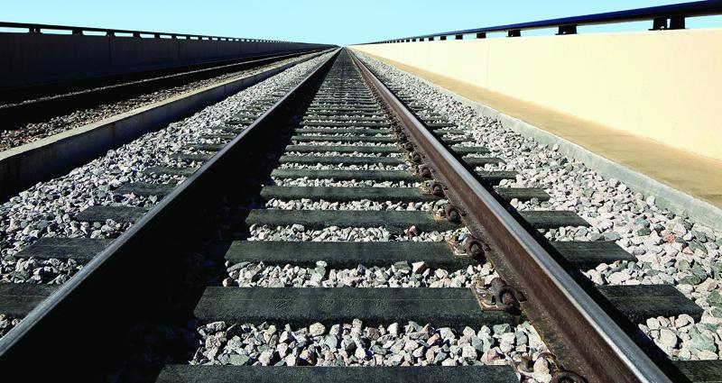Neumáticos reciclados en la construcción ferroviaria