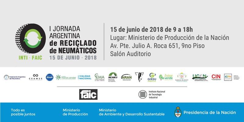 Participamos de la Primera Jornada Argentina de Reciclado de Neumáticos